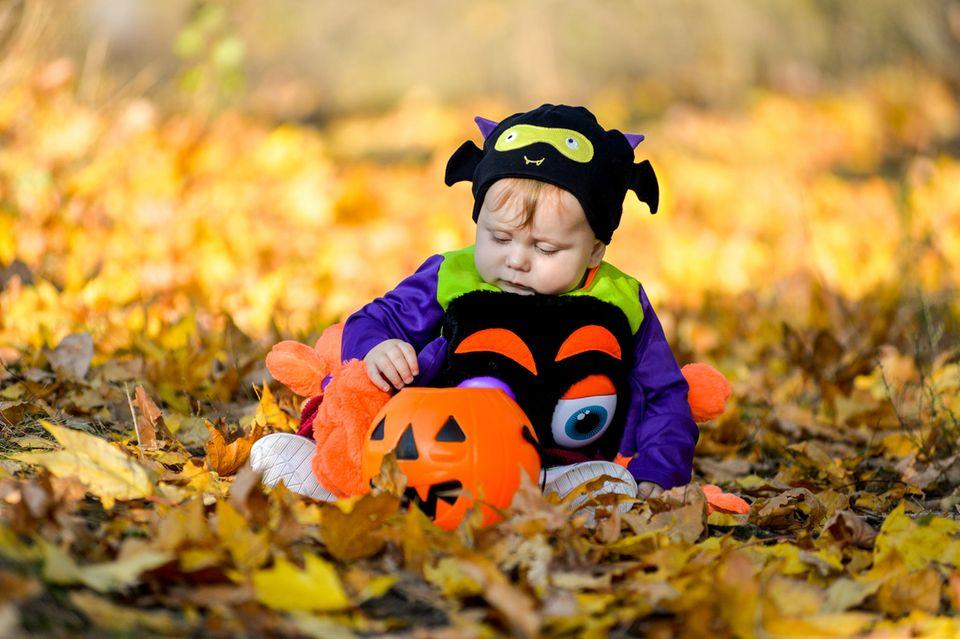 Halloweenkostüm für Kinder: Spinne