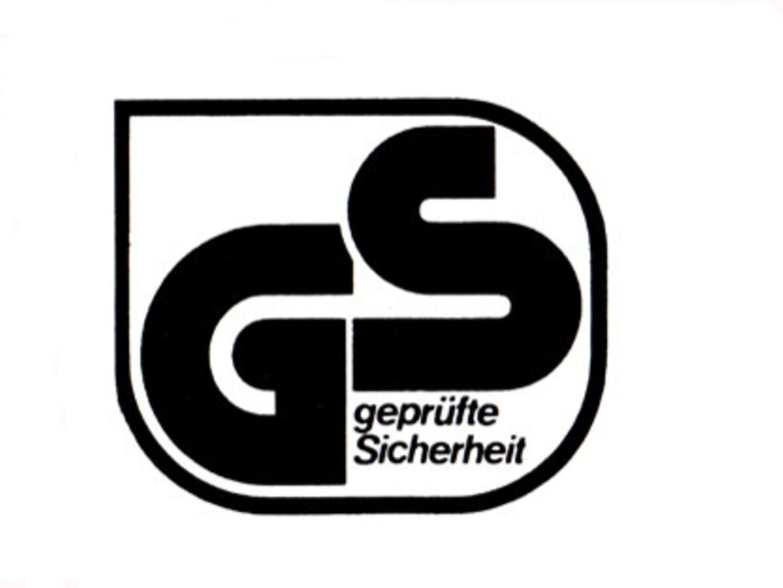 Unverzichtbar: GS-Zeichen für geprüfte Sicherheit.