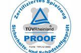 """Unabhängig: Das TÜVProof-Zeichen """"Sicherheits- und schadstoffgeprüft"""""""