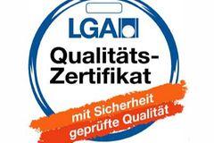 Beachtenswert: Das LGA-Qualitätszertifikat