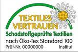 Natürlich wichtig: Öko-Tex Standard 100