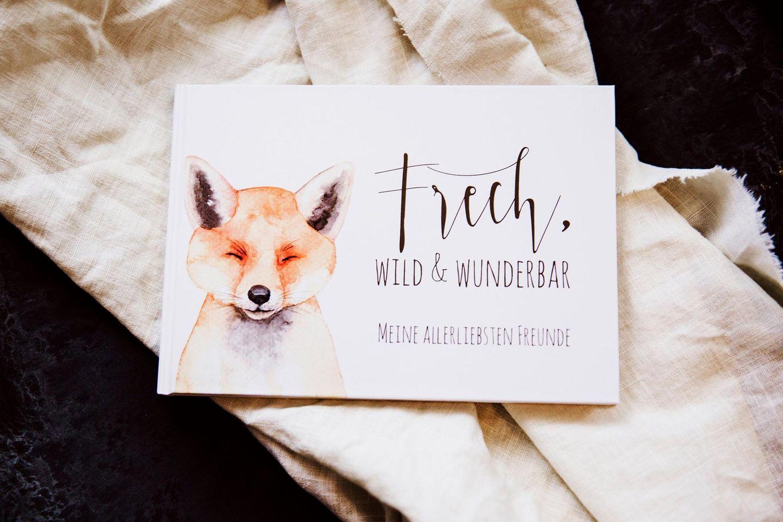 Freundebuch Fuchs von DaWanda