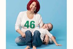 Peggy Hildebrandt stillte 46 Monate lang