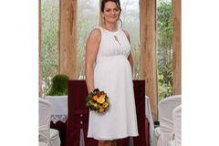 """Hochzeitskleid für Schwangere von """"Meg&Grace"""""""