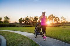 Sport mit Baby: Joggen