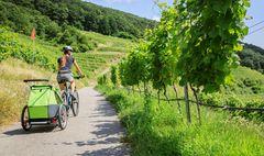 Sport mit Baby: Fahrradfahren