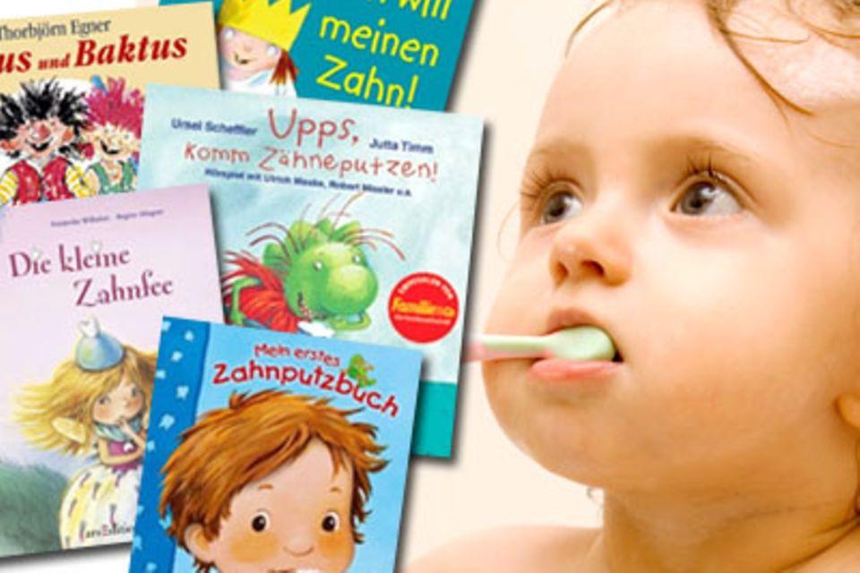 Zahnpflege: Die schönsten Bücher rund um Kinderzähne