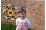 Amy-Felia mit vier Jahren