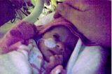 Mia, 590 Gramm, 29 cm, 31. Schwangerschaftswoche, massive Mangelversorgung durch Plazentainsuffizienz