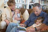 Kinder bei den Großeltern
