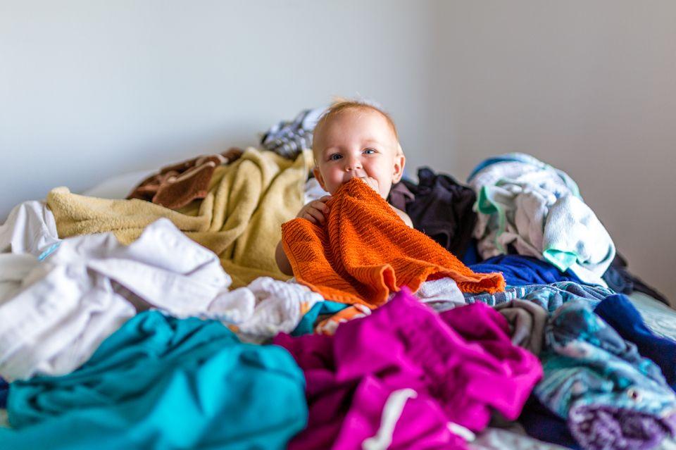 Babykleidung richtig waschen