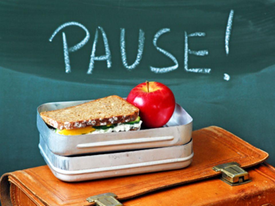 Schule: Das gesunde Pausenbrot