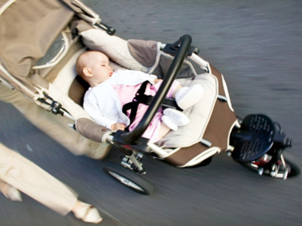 Kinderwagen: Babys erster Straßenflitzer