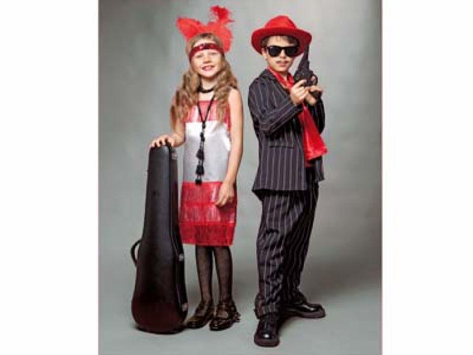 Selbermachen: Coole Karnevalskostüme für Kinder