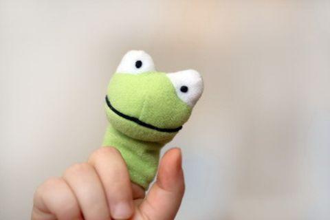 Fingerpuppen: Spielspaß für die Handtasche
