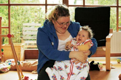 Besondere Eltern: Mutter - und geistig behindert