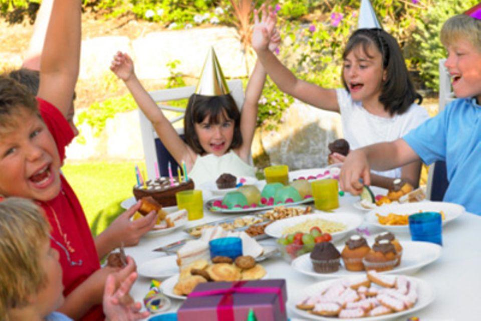 Kindergeburtstag: Viele Hände sorgen für ein tolles Geburtstagsfest