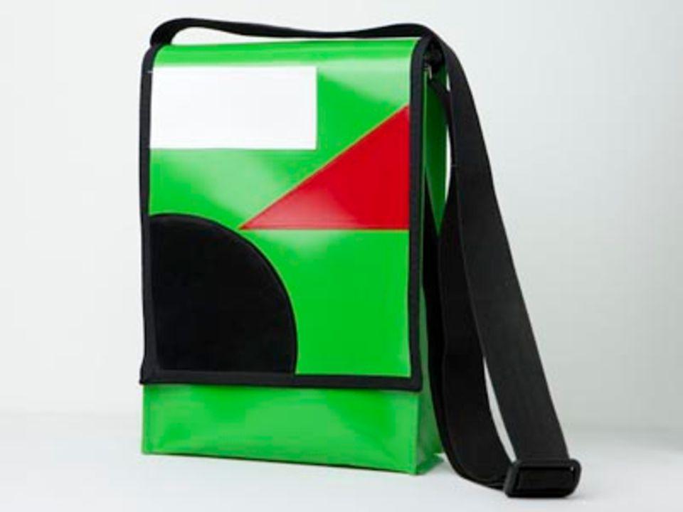 Umhängetaschen selber machen: Taschen aus LKW-Plane