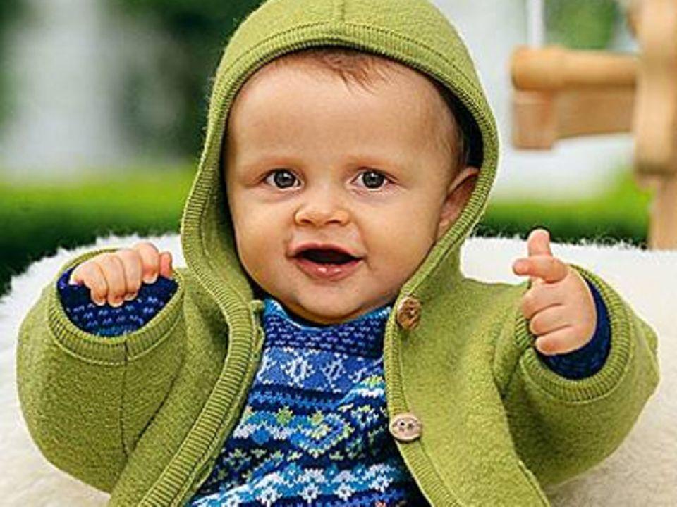 Ökologische Kleidung: Natur pur für Babys