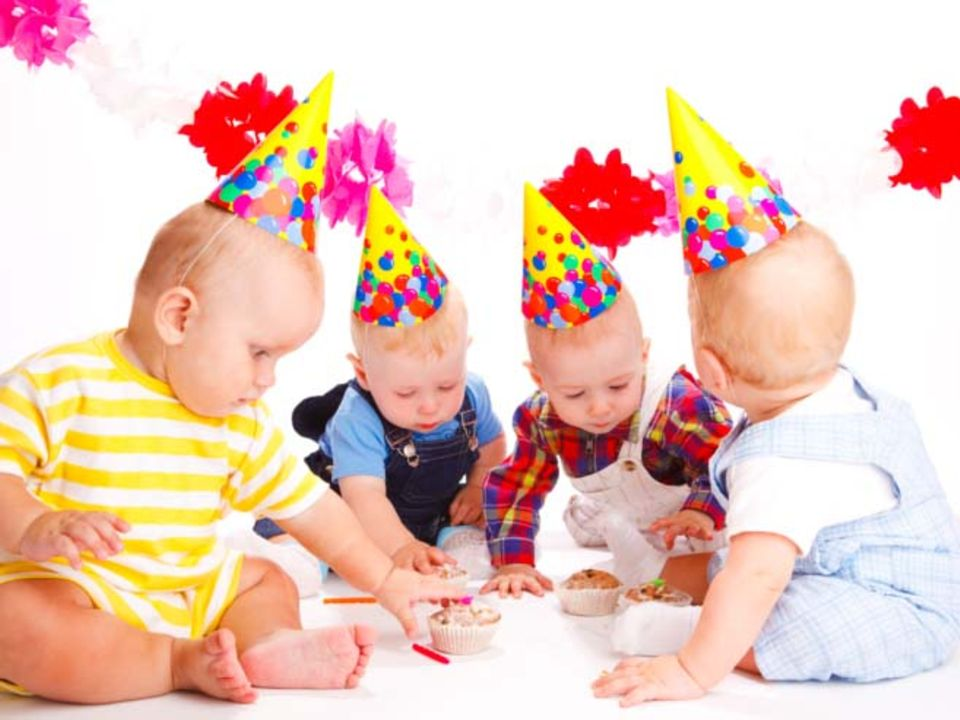 Schöner Feiern: Der allererste Geburtstag
