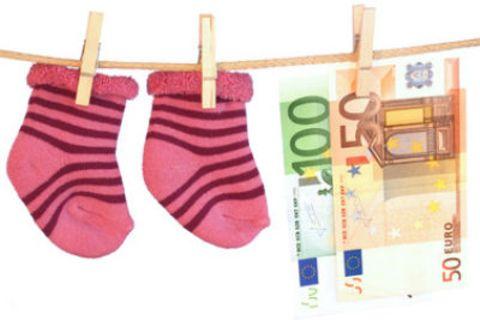 Finanzen: Tausend Euro für Windeln