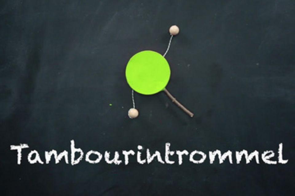 1000 Sachen selber machen: Do it yourself: Tambourin-Trommel