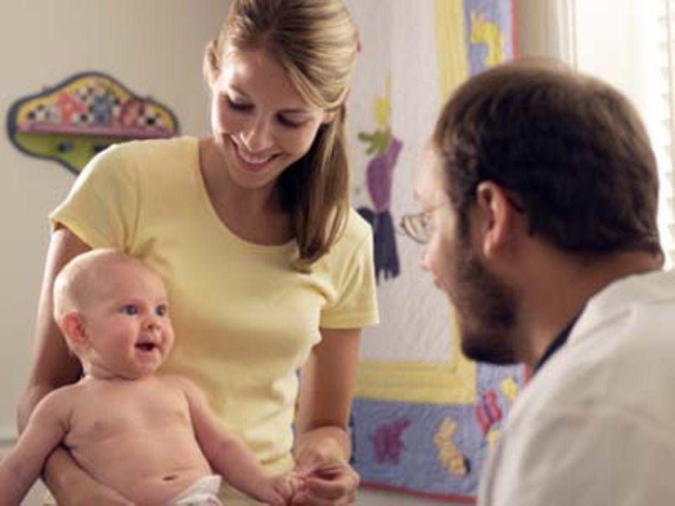 Arztbesuch: Was frage ich den Kinderarzt?