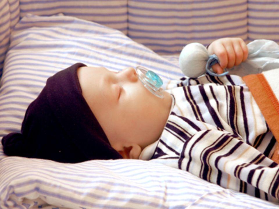 Ruhigere Nächte: Schlaf gut, Baby