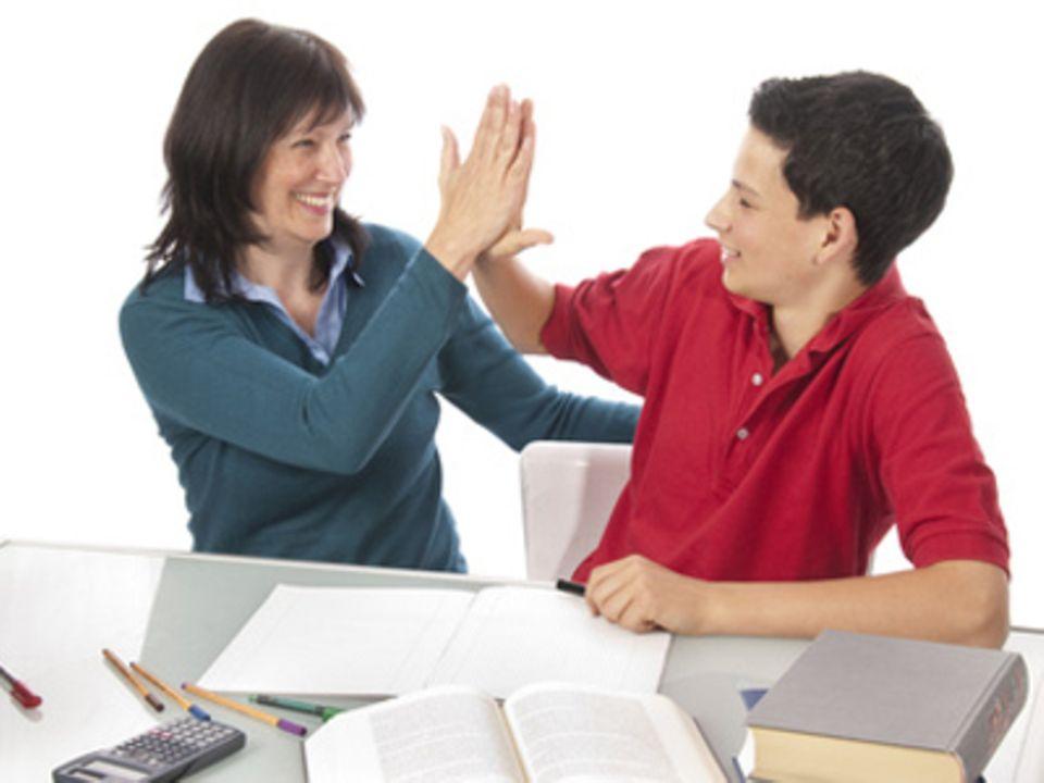 Umfrage : Helfen Sie bei den Hausaufgaben?
