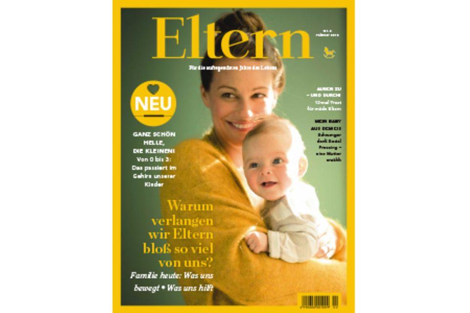 Titelcover vom ELTERN-Heft Februar 2015
