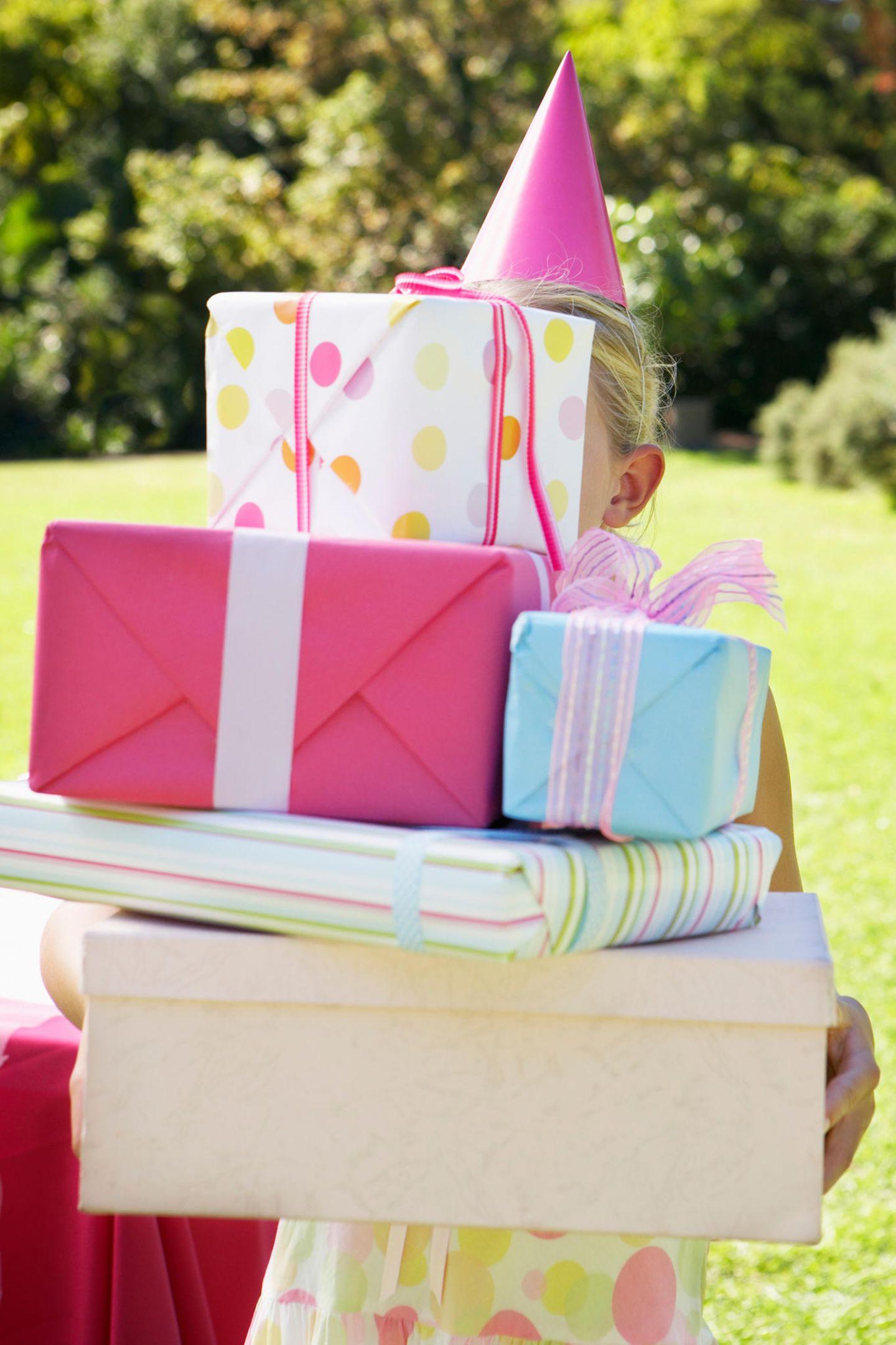 Geburtstagkisten sind praktisch, machen aber die Überraschung kaputt