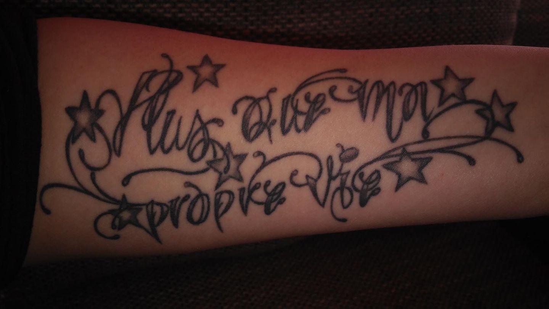 Unterarm männer tattoo namen 40 Unterarm