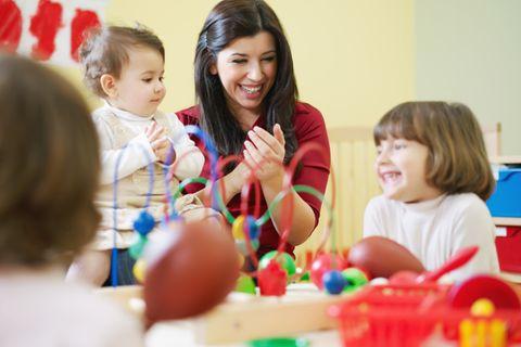 Altersgemischte Kindergartengruppe