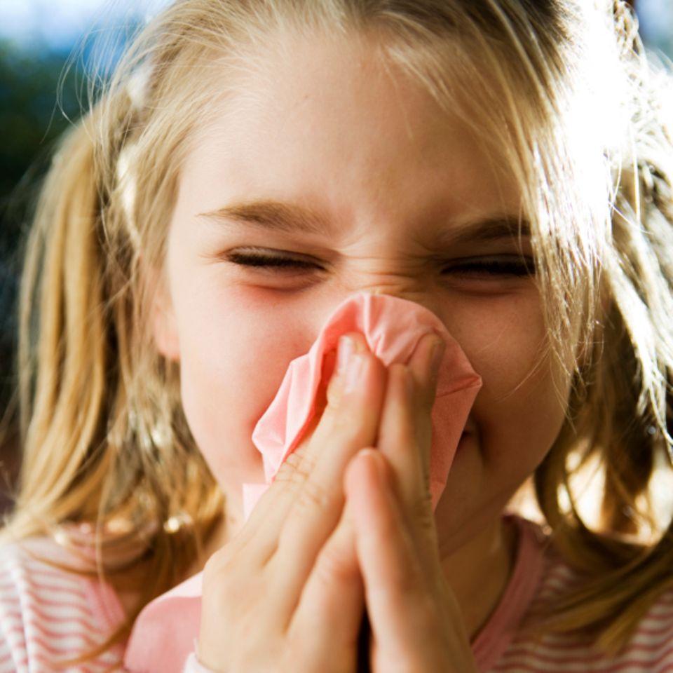 Infekte: Oft Schnupfen macht Kinder stark