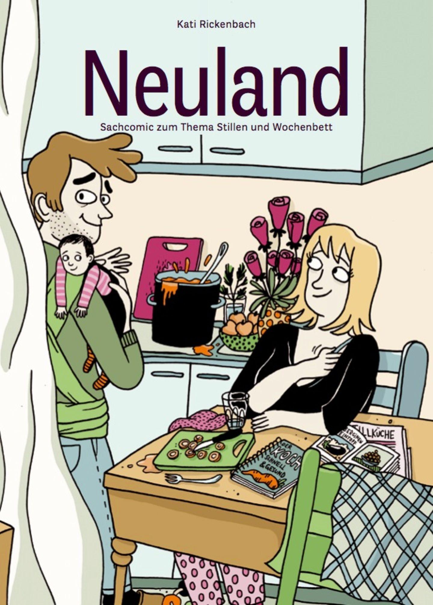 Der Sachcomic Neuland ist im Careum Verlag erschienen und hier für 31 CHF erhältlich.
