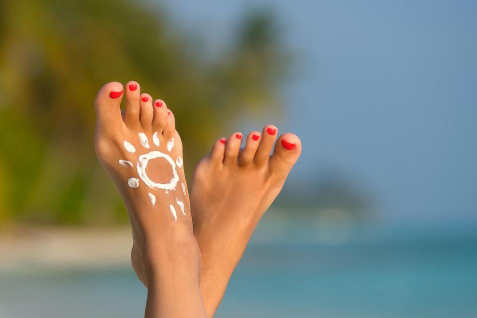Fußpflege in der Schwangerschaft