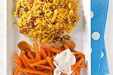 Karamell-Möhren mit Couscous