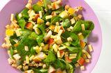 Pastinaken-Birnen-Salat mit Bergkäse