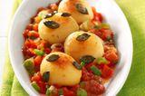 Mini-Kartoffeln in Tomatensauce