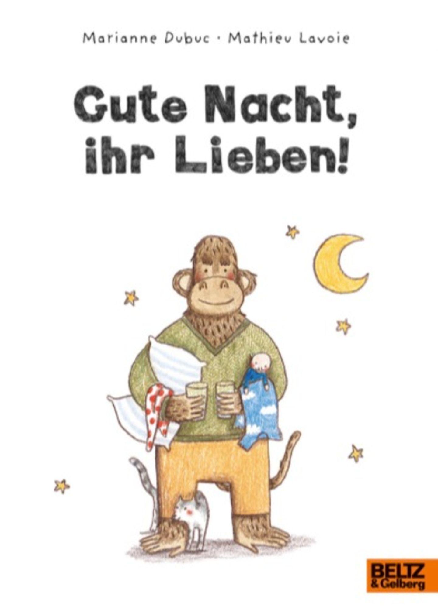"""Pappbuch """"Gute Nacht, ihr Lieben!"""""""