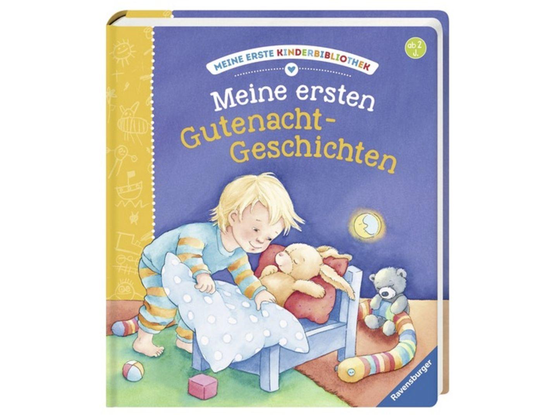 Hier findest du die schönsten Reime und Geschichten für die Zeit vor dem Schlafengehen. Begleitet werden die Gutenacht-Geschichten von stimmungsvollen Bildern. Das sorgt auf jeden Fall für eine gute Nacht und schöne Träume. Altersempfehlung: ab 2 Jahren.   Gefunden bei Amazon für 9,99 Euro *.
