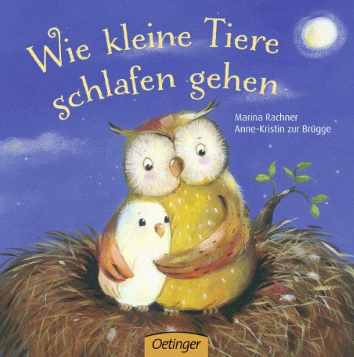 Buch: Wie kleine Tiere schlafen gehen.
