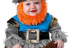 Karnevalskostüm für Babys: Wikinger