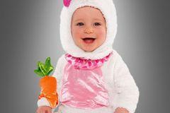Karnevalskostüm für Babys: Hase