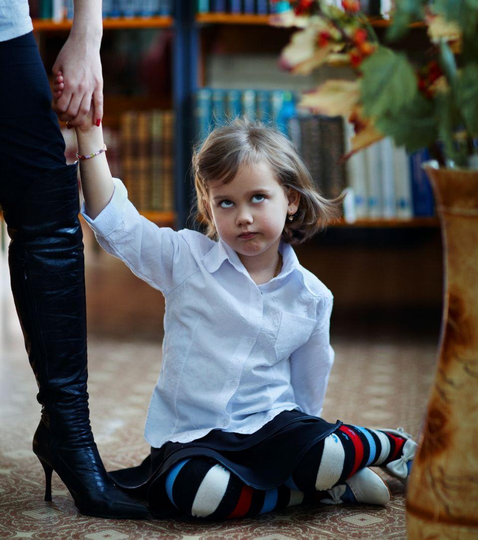 Hast Du Deinem Kind schon mal einen Klapps gegeben?