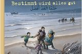 """Kirsten Boie lässt nichts aus in dieser Fluchtgeschichte von Rafah und Hassan, den beiden Kinder aus Homs in Syrien. Die beiden berichten in eigenen Worten, wie glücklich sie waren mit den vielen Cousins und Cousinen ihrem großen Haus, von den Flugzeugen, die alles zerstörten, der Angst in dem viel zu kleinen, kippeligen Boot übers Mittelmeer, von schimpfenden und freundlichen Deutschen und auch von Emma, die in der neuen Schule Rafahs Freundin wird. Die kindgerechten Bilder unterstreichen eindrücklich, aber nie schockierend Glück, Angst, Trauer und Hoffnung der Kinder und ihrer Eltern. Ein Buch für Kinder ab sechs Jahren und alle, die ein wenig nachempfinden wollen, wie sich syrische Familien auf der Flucht und hier bei uns fühlen.   Zweisprachig deutsch und arabisch, mit einem kleinen Anhang: Erste Wörter und Sätze zum Deutsch- und Arabischlernen.   """"Bestimmt wird alles gut"""" von Kirsten Boie, mit Bildern von Jan Birck, Klett-Kinderbuch-Verlag, 9,95 Euro"""