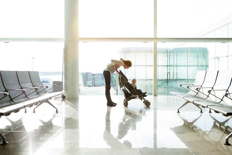 Flugreisen mit Kleinkind