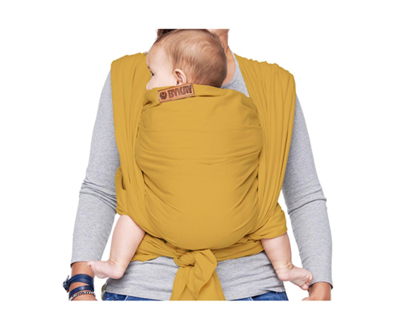 """Die """"Bykay Mei Tai Classic"""" ist eine Kombination aus Komforttrage und Tragetuch, für Neugeborene und Kleinkinder bis 18 Kilo. Die breiten Schulter- und Taillenbänder sorgen für eine gleichmäßige Gewichtsverteilung des Kindes. Auch der Sitz des Kindes wird hüftgerecht unterstützt. Das Material ist ein leichter, atmungsaktiver Baumwoll-Leinen-Mix."""