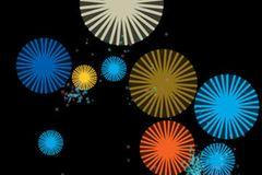 """Ihr Einjähriges möchte auch mal auf dem iPad rumtippen wie Mama? Hier ist die richtige App dafür. Schwebende bunte Kreise, Dreiecke und Sterne kommen und verschwinden auf Antippen, jedes Mal gibt's einen anderen musikalischen Ton. Zum Staunen!   """"Mebop Maestro"""" von Jenny Talavera, für iOS, Lite-Version gratis, Vollversion 2,29 Euro."""