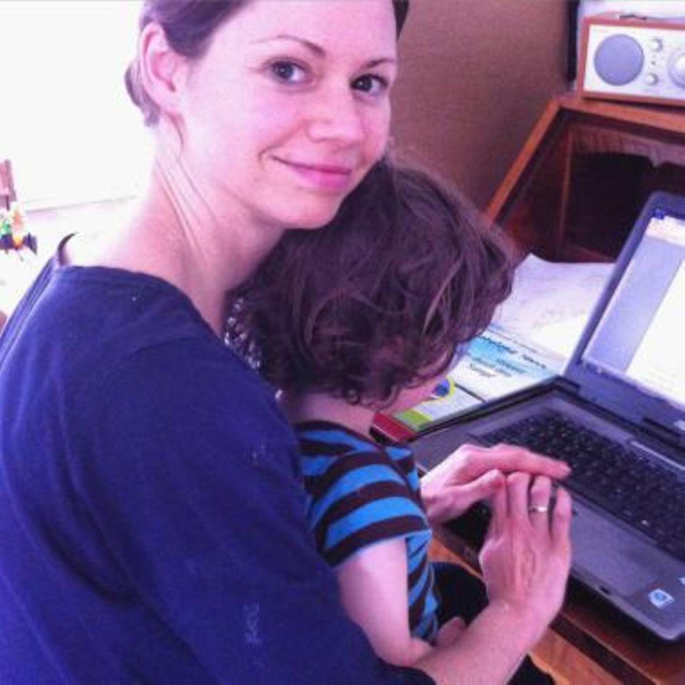 Eine ganz normale Mama: Home Office mit Kind – die ungeschminkte Wahrheit